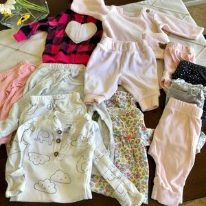 Carter's Baby Clothes - 11 Items! - Newborn Girl